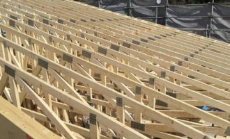 一般戸建て住宅のトラス事例